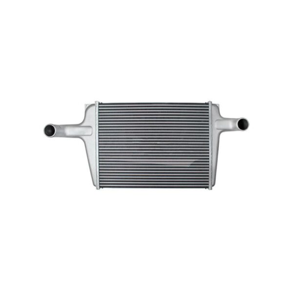 chevygm bluebird charge air cooler 8.50 from top of tank to center of neck charge air cooler oem 1030187 2