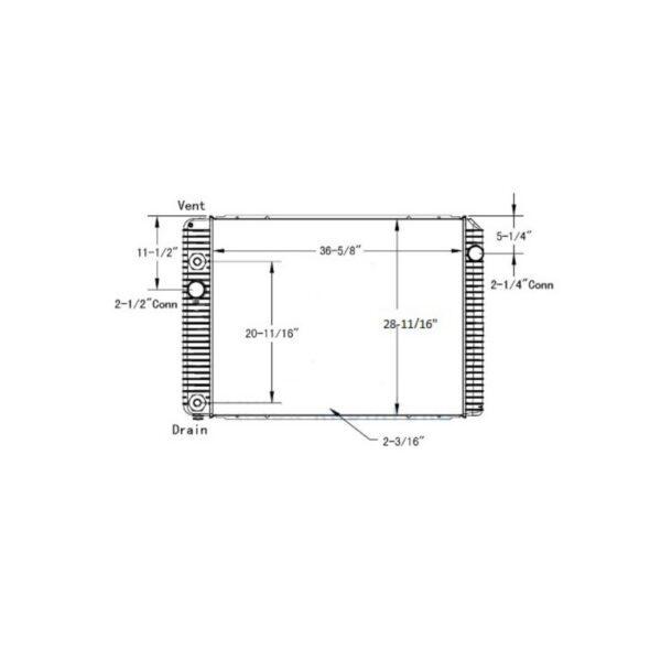 international-durastar-4300-series-12-13-radiator-oem-2602926c92