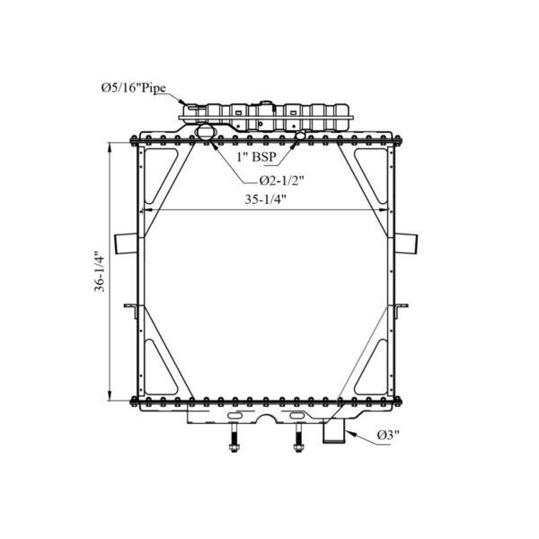 peterbilt-357-375-379-385wt-surge-tank-yr-95-04-radiator-oem-0706657a011