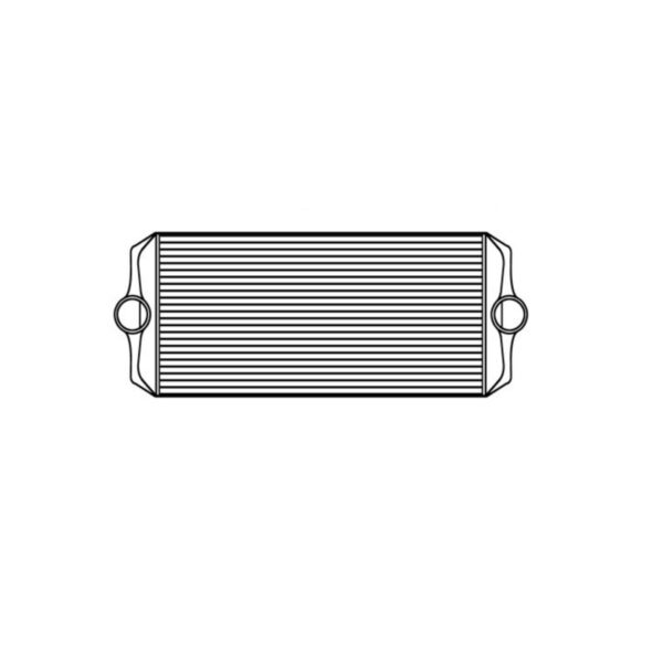 peterbilt peterbilt 330 charge air cooler charge air cooler oem 4862700004