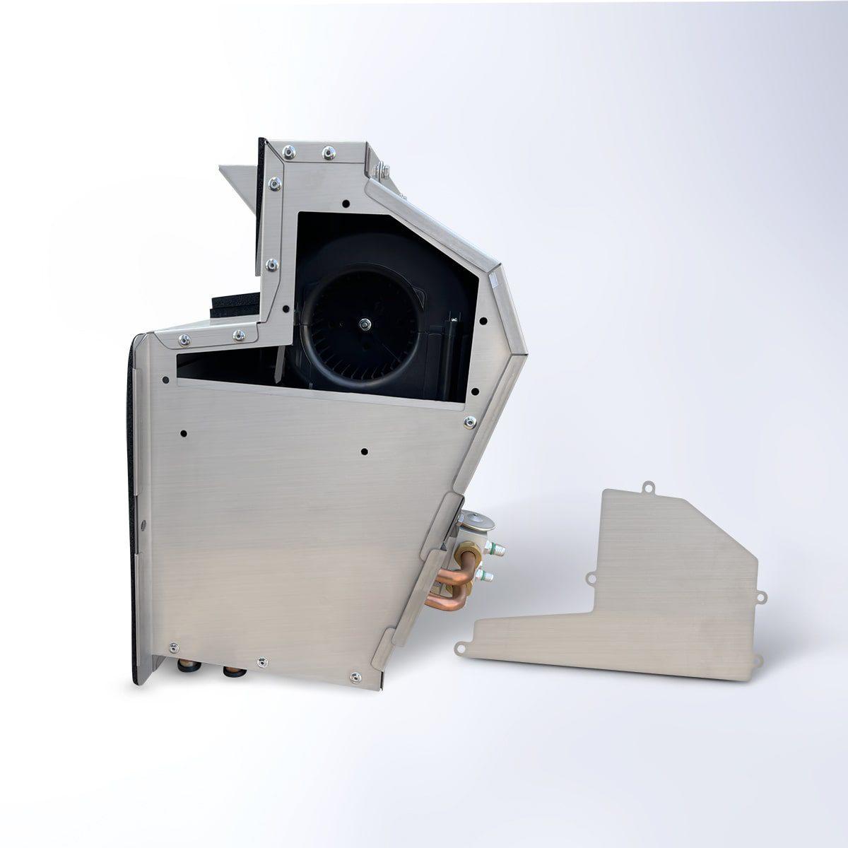 kenworth stainless steel hvac box heater ac box assembly 4 copy min